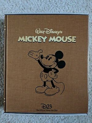 Disney D23 Gold Member Gift Pack Mickey Mouse