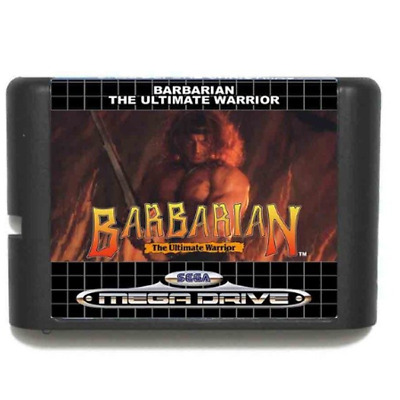 Barbarian16 bit MD Game Card For Sega Mega Drive
