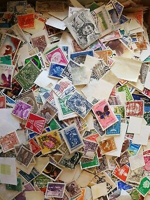 100 All Different World Stamps Kiloware From Premium Old Collection!