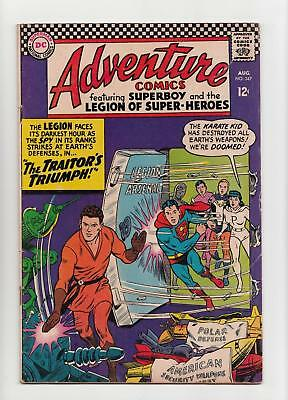 Adventure Comics #347 Legion of Super-Heroes (DC 1966) VG 4.0