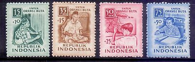 Indonesia  1956  Blind Aid, M NG.