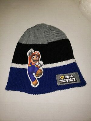 52e02867689 Official Nintendo SUPER MARIO BROS Beanie Winter Hat Men Women Knit Ski Cap  COOL
