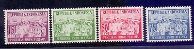 Indonesia  1955  First Free Election, M NG.
