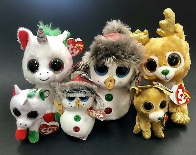 a614f236b76 TY Beanie Boos 2018 Christmas Special. Brand New With Tags. Free Express  Post.