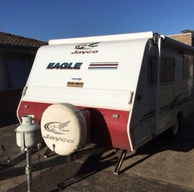Jayco Eagle 2001 Pop Top Caravan
