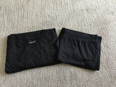 Brand New Virgin Atlantic Upper Class Sleep Suit Large Black