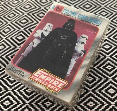 Topps Star Wars 1980 EMPIRE SERIES 1 SET trading cards