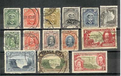 Southern   Rhodesia   George   V   Selection