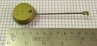 French style clock pendulum (2), no reserve
