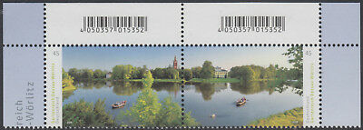 GERMANY 2018 Michel 3401-02 MNH SET of 2 conn.stamps from upper left/ri. corners