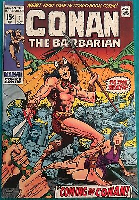 Conan the Barbarian 1—origin and first appearance of Conan—CGC opportunity