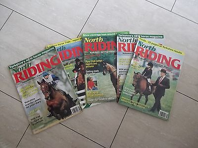 Horse Riding /Managemnet Magazines NORTH RIDING .  collection