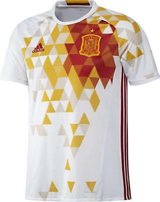 new style a4e8c 33918 Adidas maillot football Espagne Extérieur Euro 2016 blanc Adulte