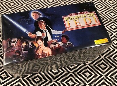Topps Star Wars 1994 RETURN JEDI WIDEVISION 144 SET trading cards FINEST