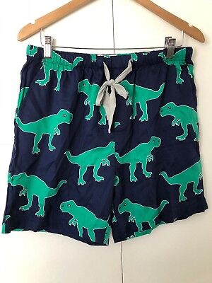 Peter Alexander LARGE Mens Sleep Shorts W/ Dinosaur Print Pyjama