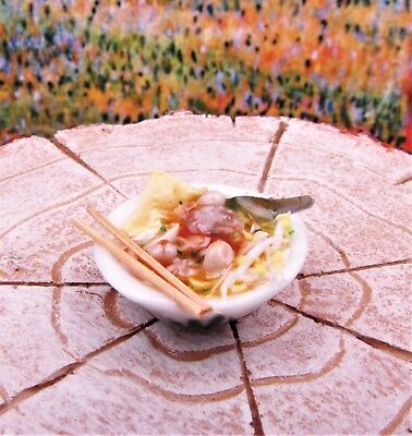 Miniature Dollhouse Fairy Garden Zen Noodle Bowl - Buy 3 Save $5