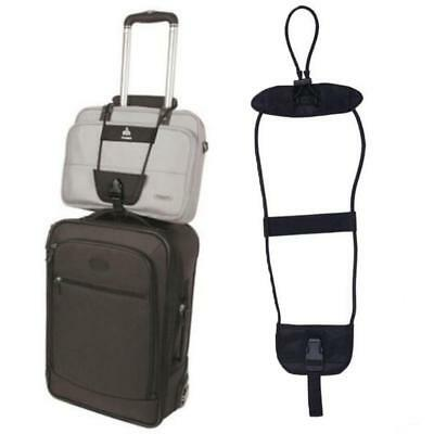 Add A Bag Strap Travel Luggage Suitcase Adjustable Belt Carry On Bungee Strap MT