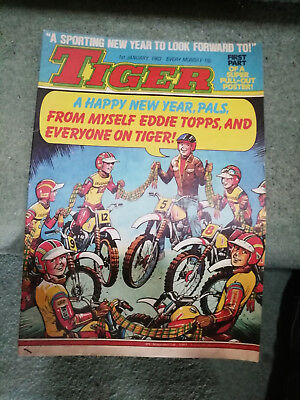 Tiger comics 1983 New year Edition January 1st