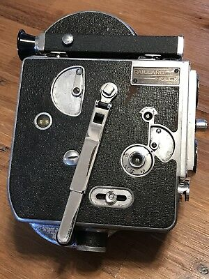 Vintage Paillard Bolex 16mm Movie Camera Body Work Good