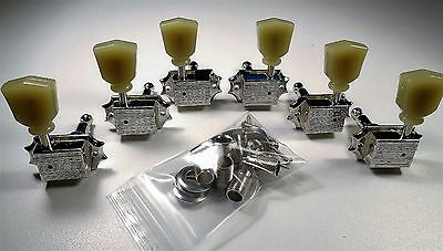 NEW Tuners GIBSON USA DELUXE 3x3 chrome pour guitare Les Paul & SG