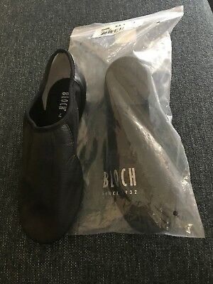 Bloch Adult Neo Flex Slip On Jazz Shoes S0495L Size 8