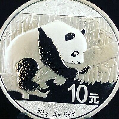 2013 1 oz Chinese Silver Panda BU Investment Grade .999 Bullion Coin