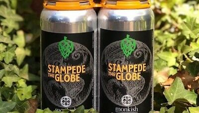 Monkish Stampede The Globe 2 Cans
