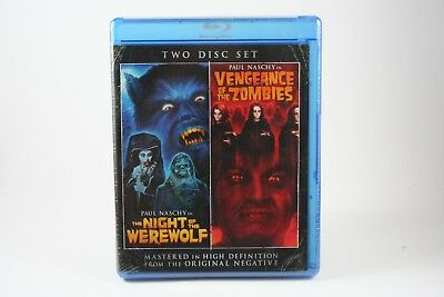 Night of the Werewolf Vengeance of Zombies Bluray Out of Print NEW! Paul Naschy