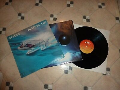 "► 12""LP SPACE "" Just Blue ""  OIS / RECORD NEAR MINT !!  ◄"