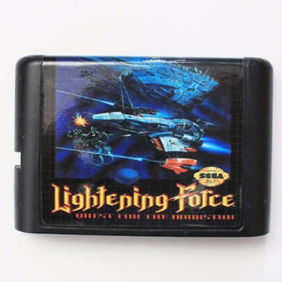Lightening Force 16 bit SEGA MD Game Card For Sega Mega Drive For Genesis
