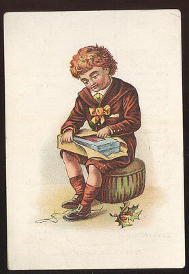 Small Trade Card, George Miller & Co. Shoes, Evansville, In. Great Poem On Back
