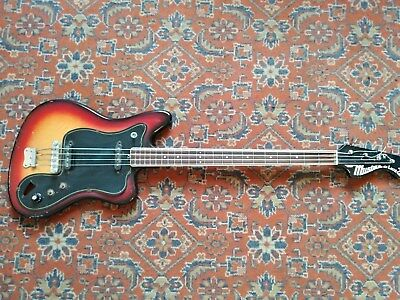 MUSIMA ETERNA DELUXE 25B BASS GUITAR RARE Vintage DDR GDR USSR