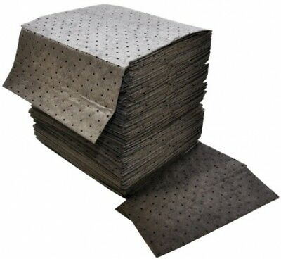 Spilfyter DB-75 Gray Universal Sorbent MRO Double Weight Absorbent Pad, 18 X 16
