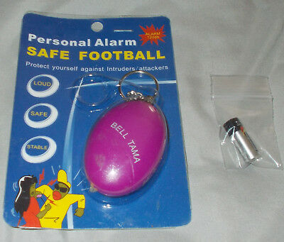 Personal Alarm - LOUD 120db  Safety - Emergency - Siren - NEW With NEW BATTERY