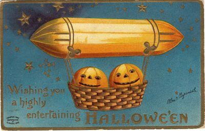 Halloween Postcard, Ellen Clapsaddle, Published By Garre, S. October 29Th, 1909