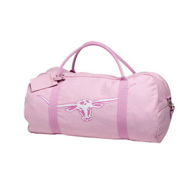 R.M Williams Nanga Pink Canvas Overnight Bag NEW