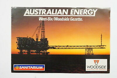 Weet Bix Australian Energy album & set of 20 cards 1989
