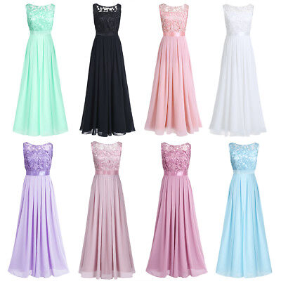 Womens Formal Wedding Bridesmaid Long Evening Party Prom Cocktail Dress Gown