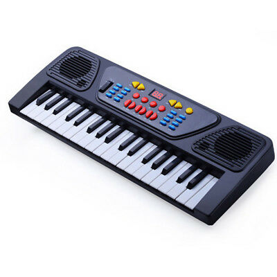 Piano Toy Children 37 Keys Keyboard Educational Power Charging Cable Instrument