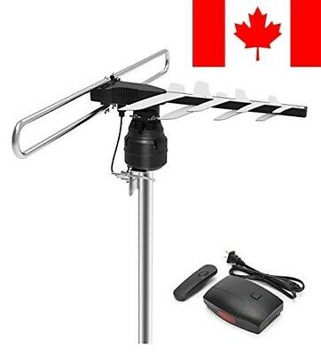 HDTV Antenna, 1byone Outdoor HD TV Antenna with 85 Mile Range, Remote Control...