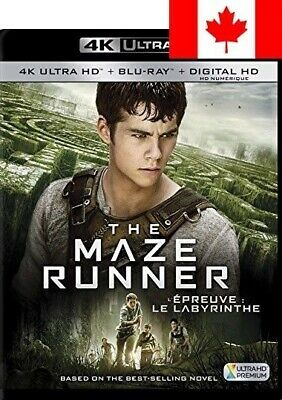 The Maze Runner [4K Ultra HD + Digital Copy] [Blu-ray] (Bilingual)