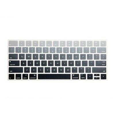 Gradient Gray Protector Cover Laptop Thin Silicone Skin for Apple Magic Keyboard