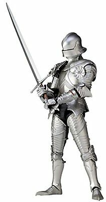 Takeya figure 15th century gothic formula field armor silver 147mm action figure