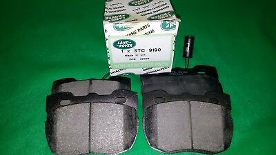 Sfp500180 - Front Brake Pads - Stc3765 For Genuine Land Rover