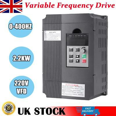 2.2KW 3HP 220V Single To 3 Phase Variable Frequency Drive Inverter VSD VFD PWM
