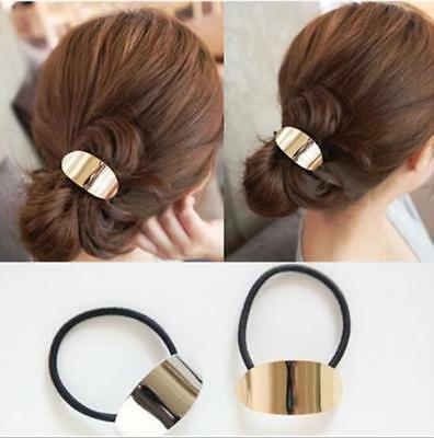 Stylish Women Girl Alloy Hair Rope Elegance Fashion Accessories Ponytail Holder