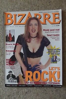 Bizarre 9 June 1998 - Christina Ricci, John Waters, Roadies.