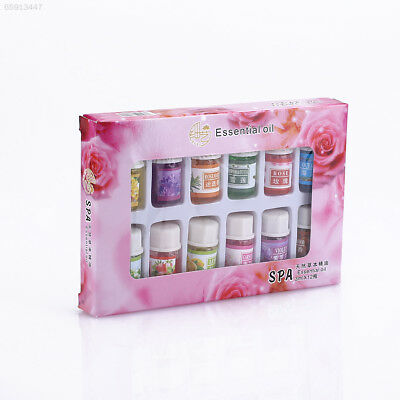 7D0F 12pcs/Set Pure Lavender Essential Oils Pack Set Aromatherapy 3Ml Fragrance