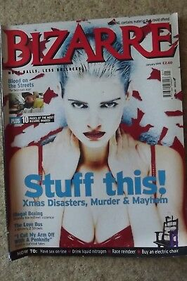 Bizarre 16 January 1999 Illegal Boxing, Xmas Disasters, Love Bus.