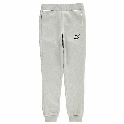 Puma No1 Logo Pant Youngster Girls Fleece Jogging Bottoms Trousers Pants